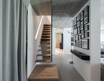 M Garden Duplex in Paris by Toledano + Architects
