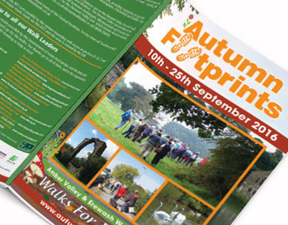 Groundworks Autumn Footprints Walking Festival Booklet