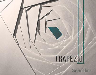 """Design do álbum """"Trapézio"""", de Susana China"""