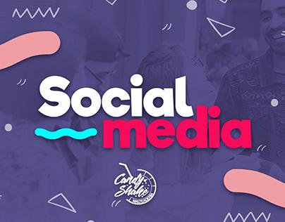 Candy Shake-Social Media Brand