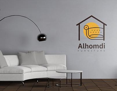 Al-homdi furniture Logo design