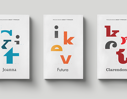 BOOK COVER: The Great Typefaces