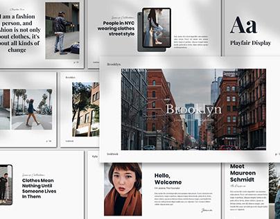 [Free Presentation] Brooklyn - Presentation Template