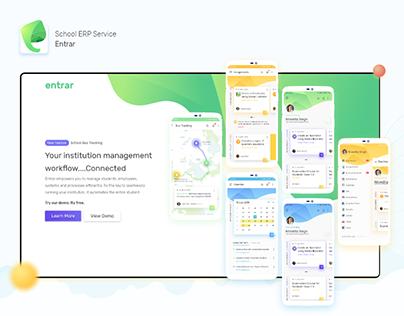 Entrar: ERP Mobile Application