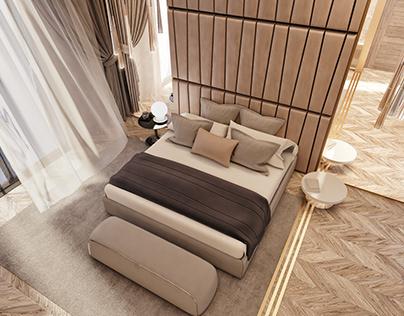 MASTER BEDROOM | Swanlake Villa Location: Cairo