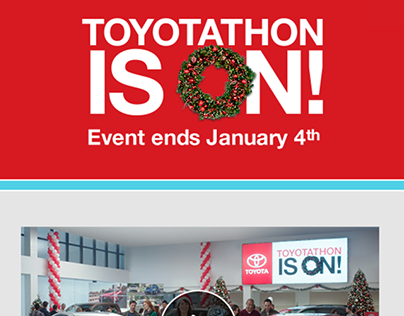 Toyota December Sales Event
