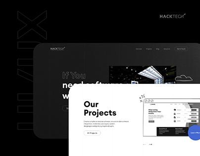 Hacktech Website Redesign