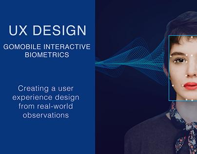 UX Design for a Biometric Authentication App