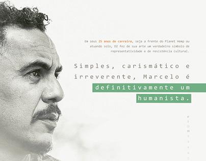 Presentation for Marcelo D2 (Rio/BRA)