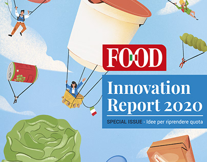 Food Magazine - Cover