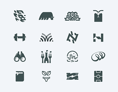 Double meaning logo collection