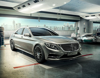 Mercedes-Benz S 500 Plug-In Hybrid - Full CG