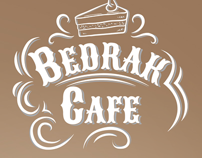 Bedrak Cafe Branding and Logo Design