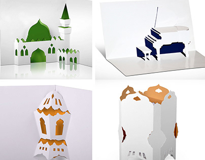 Origami Pop-Up & Diecut