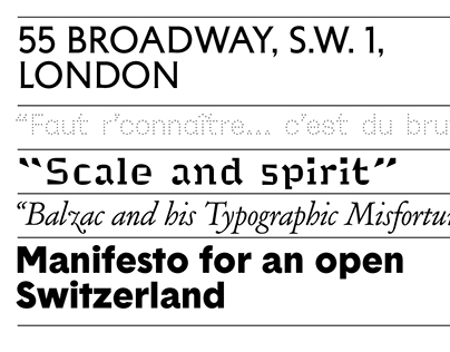 205TF: a new french & Independent Type Foundry