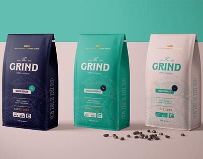 THE GRINND COFFEE COMPANY- BRANDING