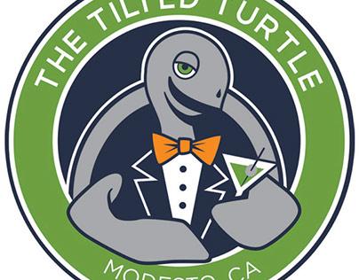 The Tilted Turtle Logo Design