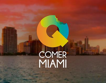 Q Comer Miami - Branding