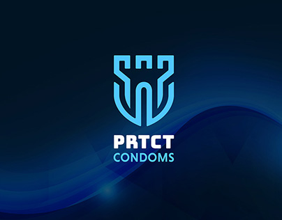 Logo Design PRTCT Condoms