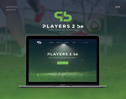 Players 2 be - Branding & Website