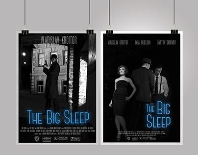 'The big sleep' Noire movie posters