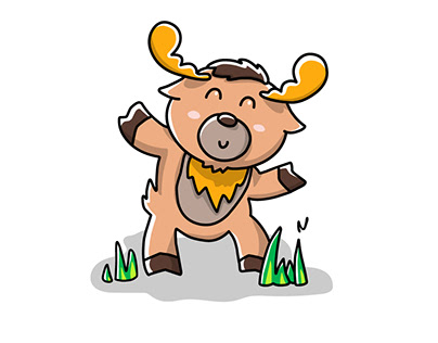 Deer Character and Animation