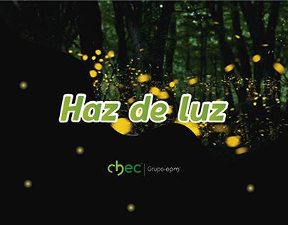 Haz de luz   CHEC