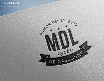 Logo Lycée MDL Talence