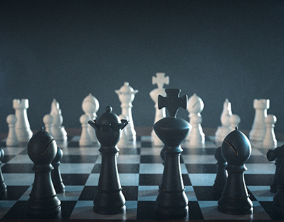 C4D Experiment - Chess Game