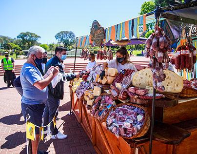 """Ferias """"BA Market"""" y """"Sabe la Tierra"""""""
