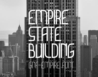 GNF-Empire Font