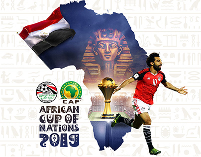 African Cup of Nations in EGYPT 2019 Poster