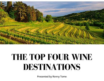 The Top Four Wine Destinations