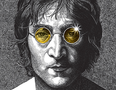 John Lennon, British singer, former Beatles