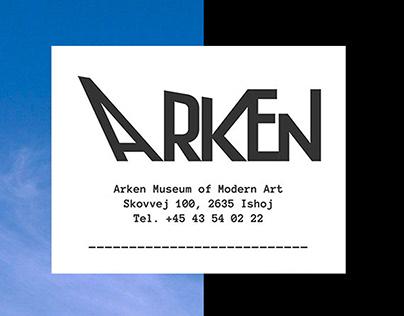 ARKEN MUSEUM OF MODERN ART - Museum Identity