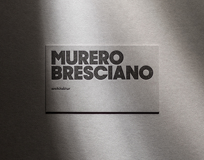 MURERO BRESCIANO - Branding