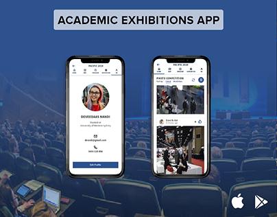Academic Exhibitions App