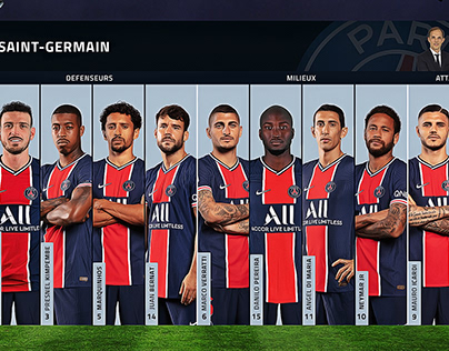 Starting eleven PSG concept