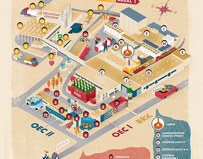budweiser budvar brewery map