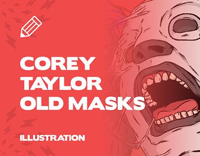 Corey Taylor Old Masks