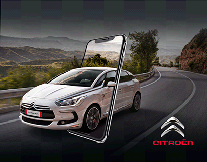 Citroën - Branding & Promotional Website.
