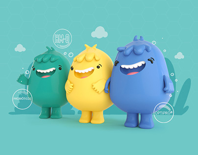 NAN HMO Nestlé Character 3d