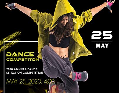DANCE COMPETITON Flyer Design