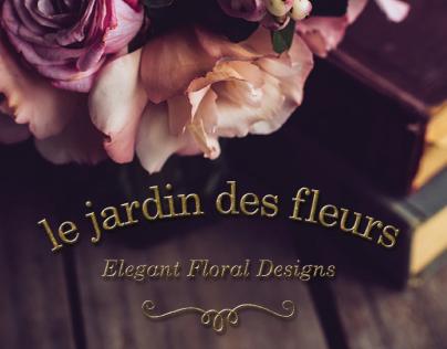 Logo and Branding for Floral Design Boutique