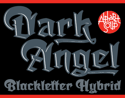 New Font Release: Dark Angel
