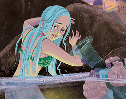 The Little Mermaid's Transformation