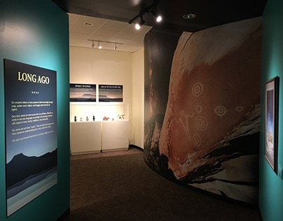 """Long Ago"" Indian Pueblo Storytelling Exhibit"
