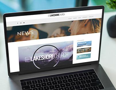 Lakeshore Church Website Redesign