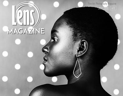 Publication in Lens Magazine : cover + feature iss. #70