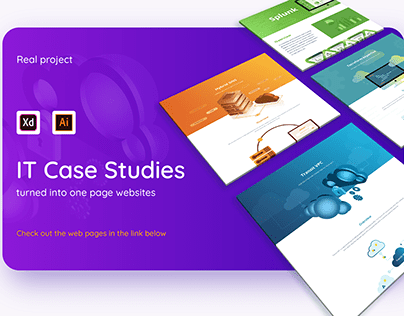 Technical Case Studies turned into a One-Pagers